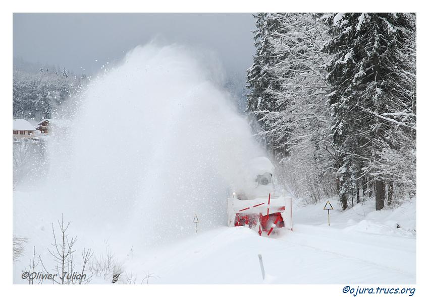 Retour du chasse-neige CN3 Beilhack le 15/02/2013. Ligne des hirondelles. 20130215151055-c9782aaf